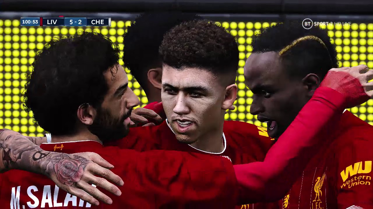 eFootball PES 2020 Super coppa UEFA - Liverpool - Chelsea ...