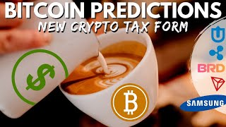 BTC Price Prediction | Crypto Taxes | Ripple XRP Partners Bread Wallet | Tron Samsung? Bitcoin News