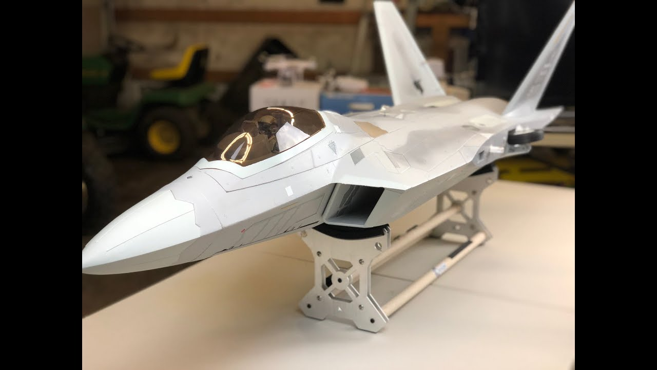 small resolution of freewing f 22 raptor full build 90mm edf jet f22 assembly