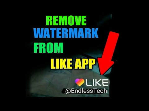 How to Remove Watermark from Like app 2018 | Best Magical Video Maker App