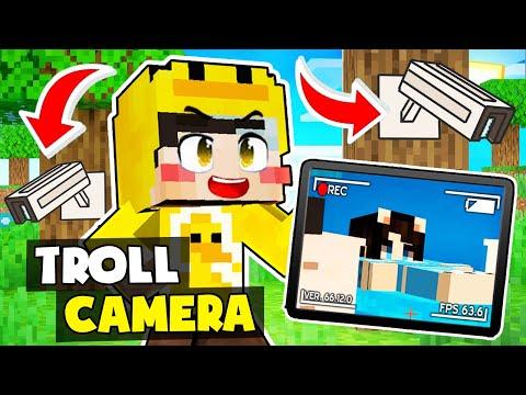 MrVit troll Mèo Simmy bằng CAMERA NHÌN XUYÊN TƯỜNG trong Minecraft !!!
