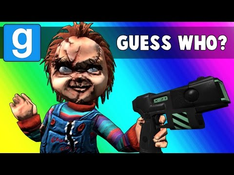 Gmod Guess Who Funny Moments - Horror Film Edition! (Garry's Mod)