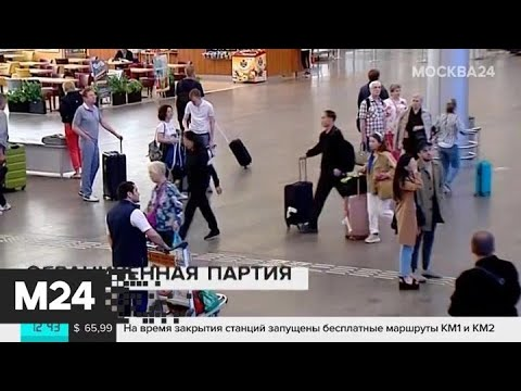 Правила провоза багажа через границу ужесточили - Москва 24