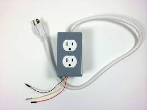 wiring up power plugs to Europe/China wiring colors codes - YouTube
