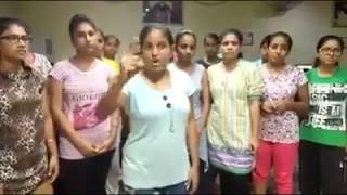 Girls Supporting Gurmit Ram Rahim after he held Guilty for Rape,such a brainwashed girls in dera