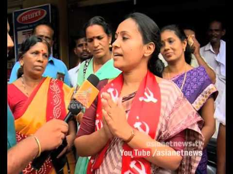 With the Candidate | Aranmula Assembly Constituency| Assembly Election 2016