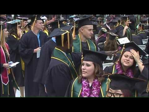 Cal Poly Spring 2016 Commencement 4pm Saturday Ceremony