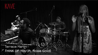 Terrace Martin: 'Think Of You' (feat. Rose Gold) (VR mix)