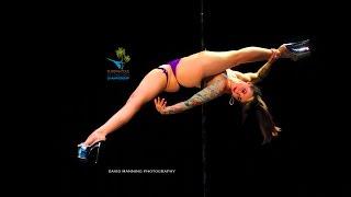 Florida Pole Fitness Championship 2016 - Sarah Jade