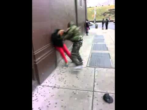 Bronx Ny lover fight! Two men