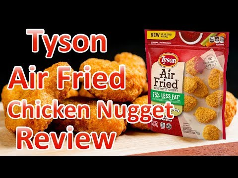 Tyson Air Fried Chicken Nuggets Review Youtube