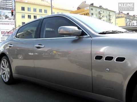 Erste Kontrolle der Finanzpolizei in Graz