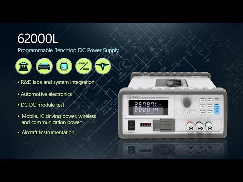 Programmable DC Power Supply | Chroma ATE Inc