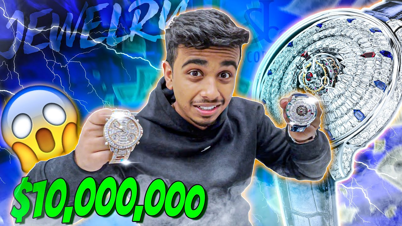 MOST EXPENSIVE WATCH SHOPPING !!!