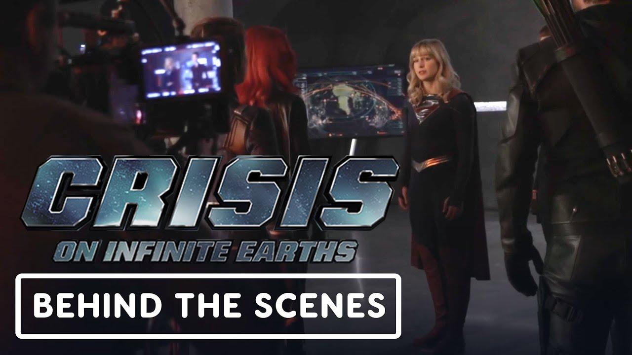 Crisis en Tierras Infinitas - Clip oficial detrás de escena + vídeo