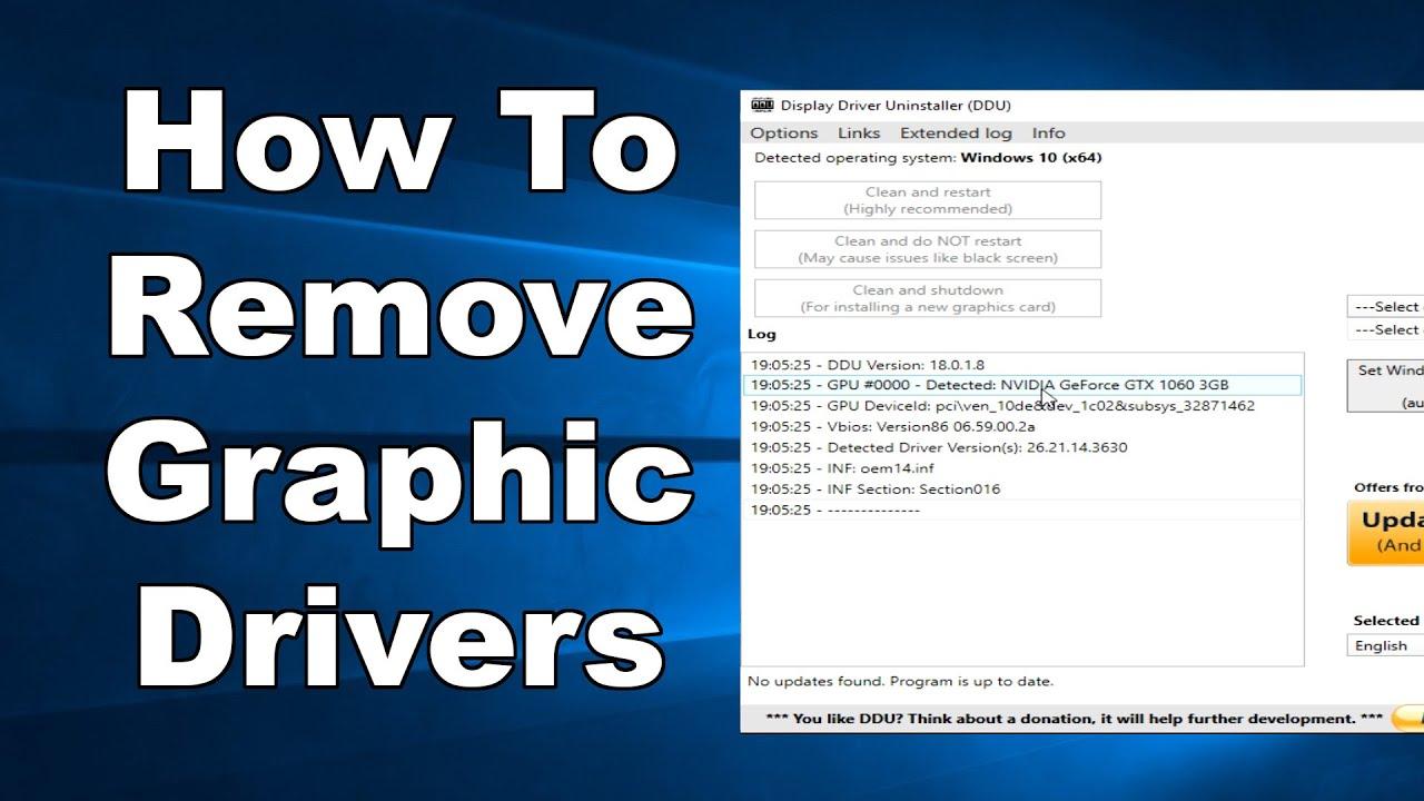 HHướng Dẫn Gỡ Bỏ Triệt Để Driver Card VGA Trên Windows 10 - VERA STAR
