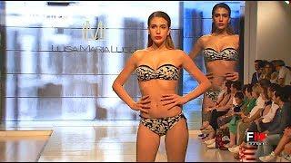 ARTISTIC GEOMETRIES   LUISA MARIA LUGLI SS 2018 Maredamare 2017 Florence   Fashion Channel