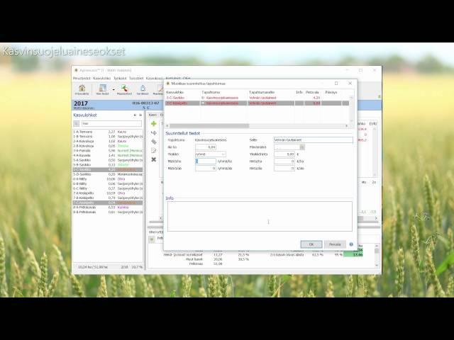 Agrineuvos - Kasvinsuojeluaineseokset