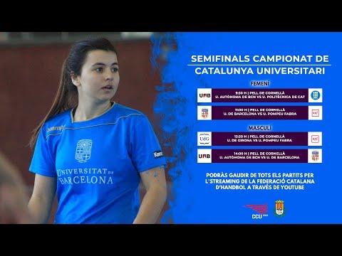 Universitat de Barcelona vs Universitat Pompeu Fabra | Campionat Universitari Femení 2018
