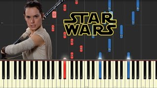 Rey's Theme - Star Wars: The Force Awakens [Piano Tutorial]