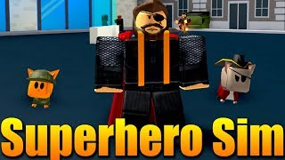 Simulateur de superHRDINSKMD PAR-KY!😱 Roblox Superhero Simulator