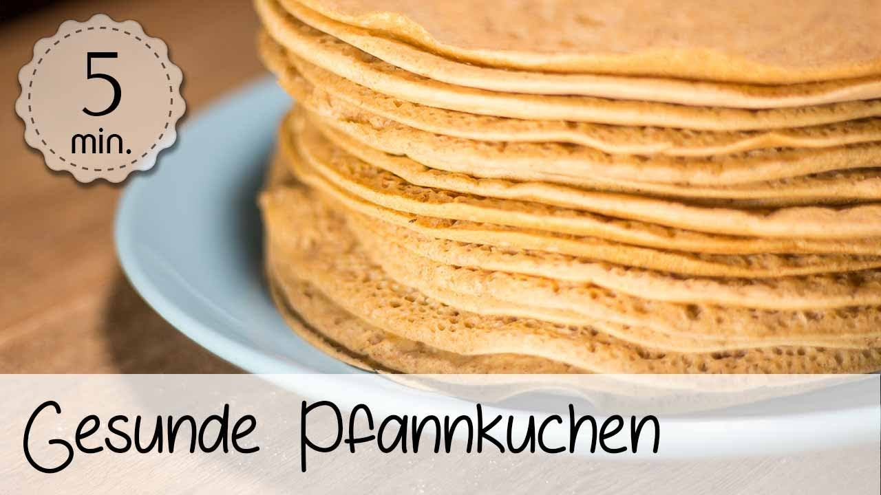 gesunde pancakes vegan gesunde pfannkuchen selber machen ohne ei 5minuterecipes youtube. Black Bedroom Furniture Sets. Home Design Ideas