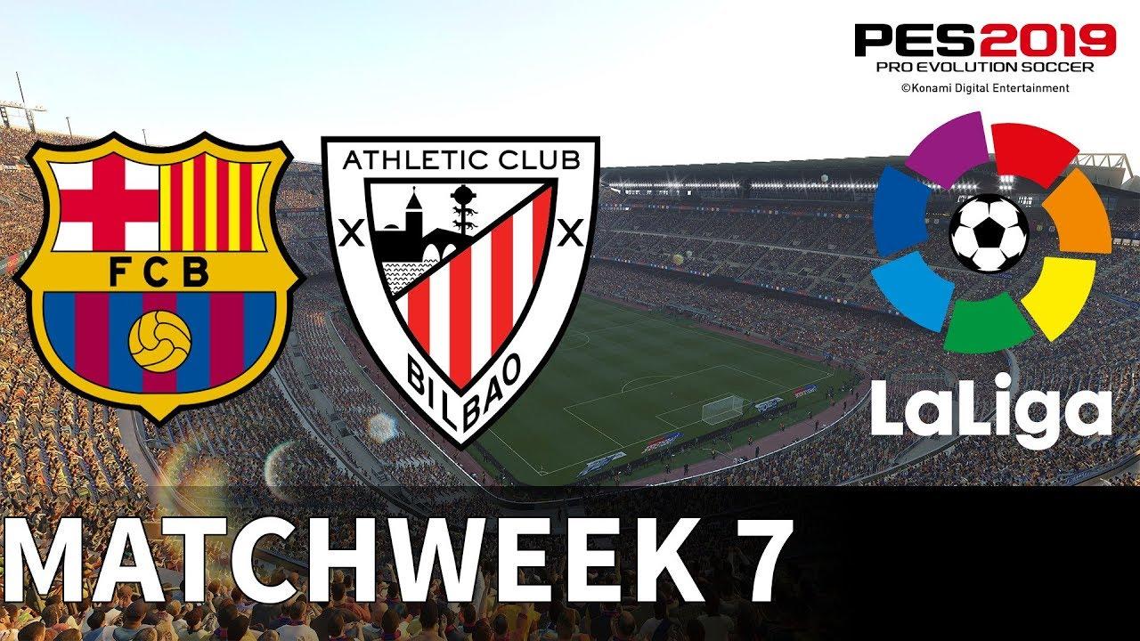 Barcelona vs Athletic Bilbao - Camp Nou - 2018-19 La Liga ...