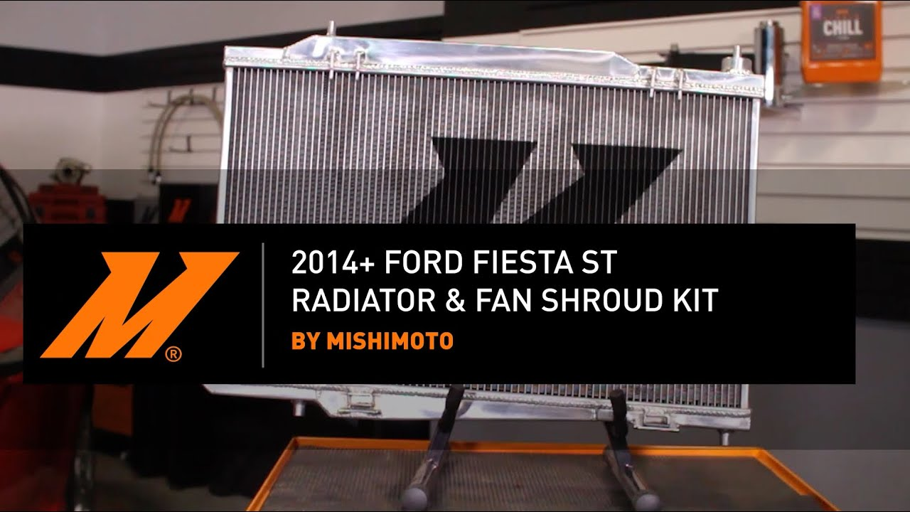 small resolution of 2014 ford fiesta st radiator and fan shroud kit installation guide by mishimoto