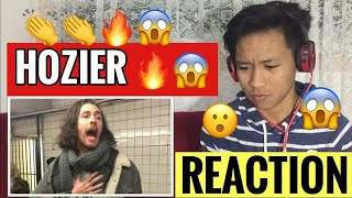 Hozier - Take Me To Church (Pop-Up Show in NYC Subway) | REACTION
