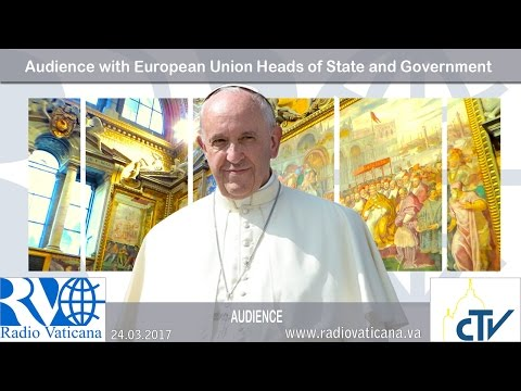 2017.03.24 Audience with European Union Heads of State and Government