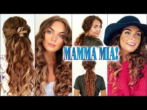 Mamma Mia! 2 Summer Hairstyles | Sophie & Donna Curls thumbnail