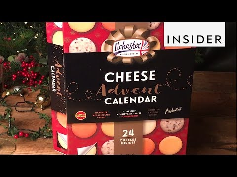 Brady - The Cheese Advent Calendar Will Get You Festive Lacitcly
