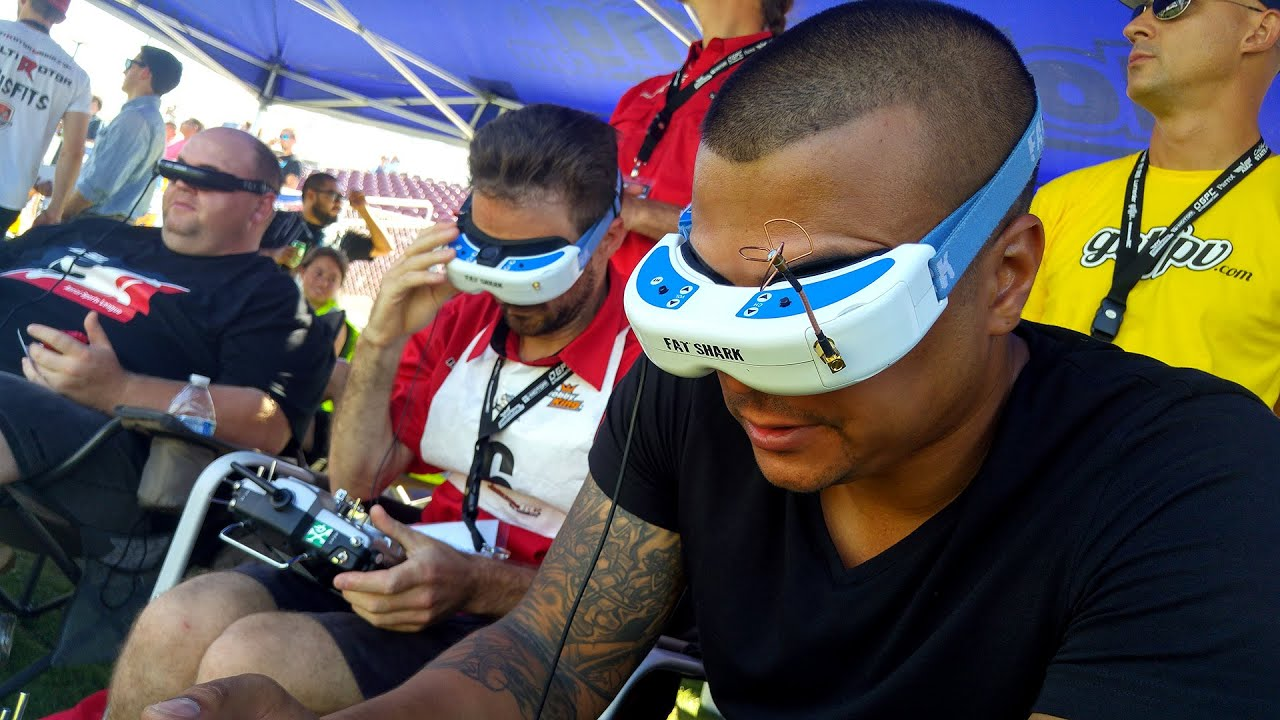 FPV Drone Race, merasakan balapan diudara secara real time dengan First Person View!