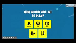 How to download Fortnite Battle Royale on ChromeBook / Android..... NL