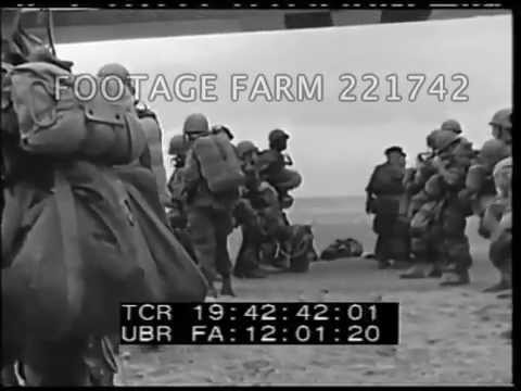 Suez Crisis French Landing 221742-05 | Footage Farm