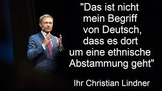 """Christian """"Es gibt keine Deutschen"""" Lindner und die Moomax GmbH"""