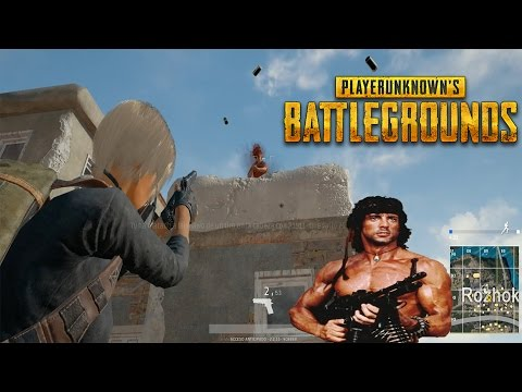 MODO RAMBO: UN FINAL DE PELÍCULA!! - PLAYERUNKNOWN'S BATTLEGROUNDS