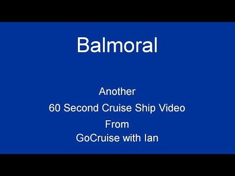Balmoral in 60 Seconds