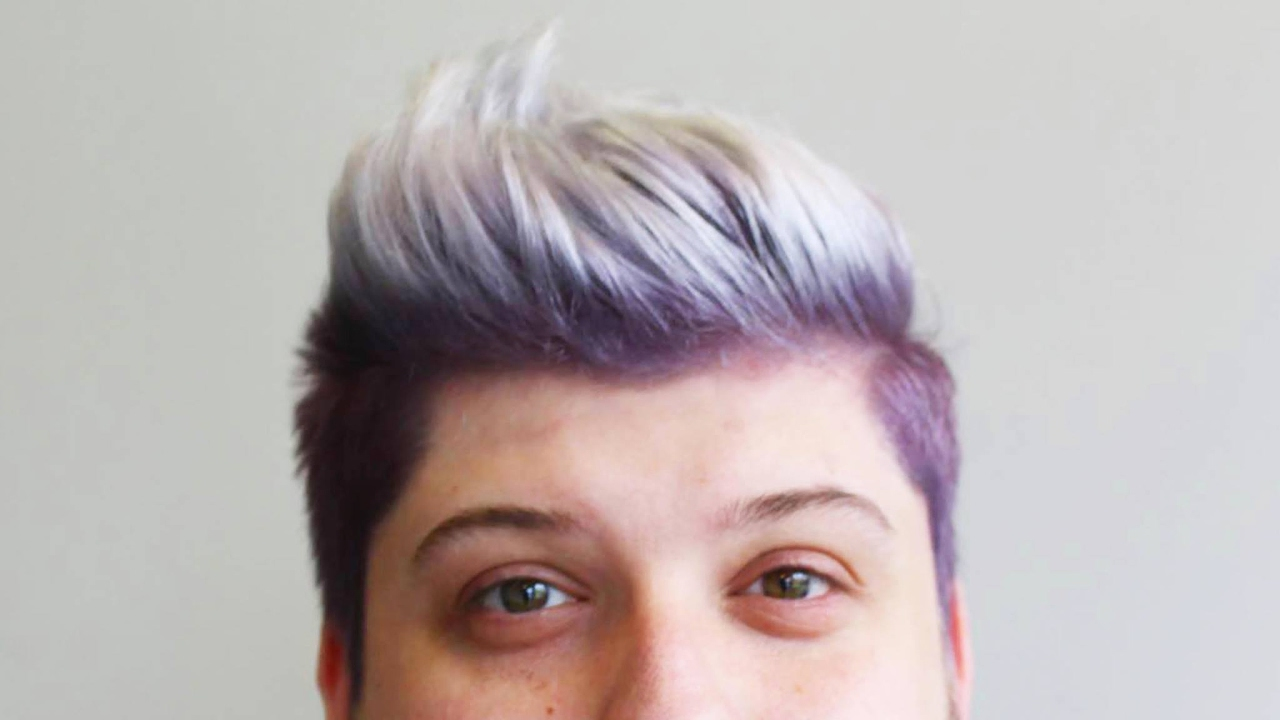 Smokey Lavenderash Grey Hair Colour Tutorial How To Bleachdye
