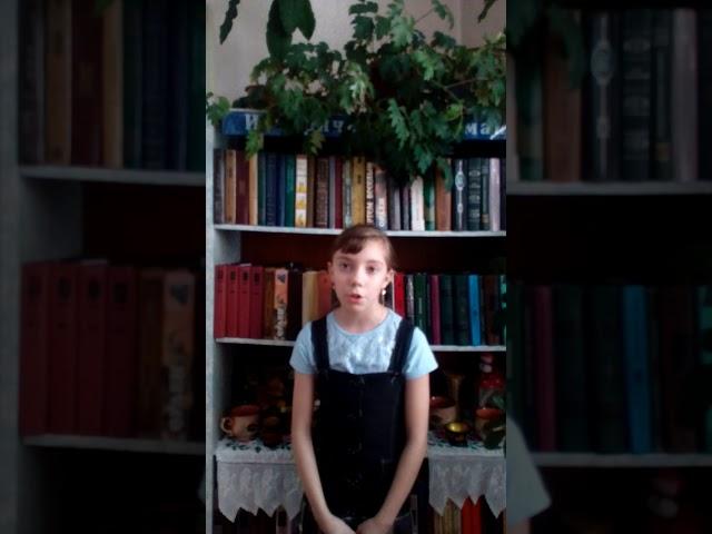 Изображение предпросмотра прочтения – ДарьяВеремейчук читает произведение «На бульваре» М.И.Цветаевой