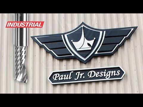 CNC Custom Foam & ACM Sign for Paul Jr. Designs | ToolsToday