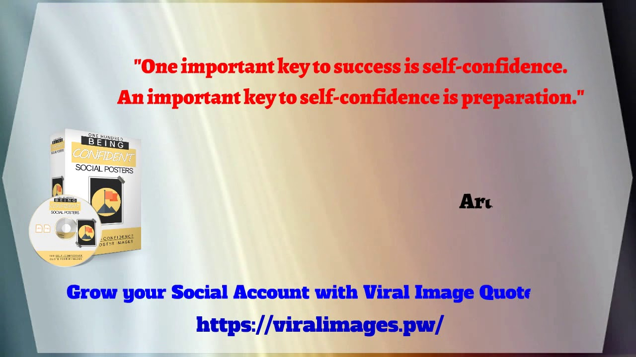 Quotes About Being Confident Being Confident Viral Quotes 12 One Important Key To Success Is