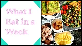 Pictures of Food I Ate in a Week: Healthy Diet/Weight Loss
