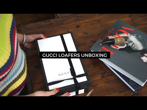Gucci Loafer Unboxing