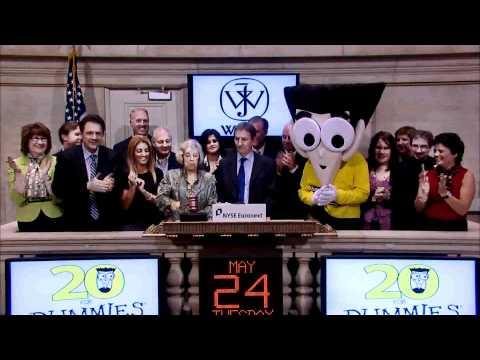 24 May 2011 John Wiley & Sons rings the NYSE Closing Bell Mp3