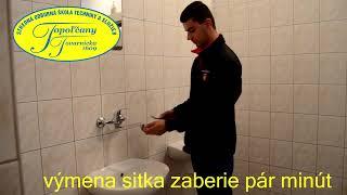 Ako vymeniť sitko na vodovodnej batérii