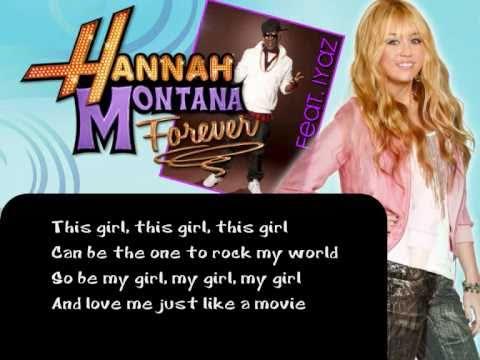 Hannah Montana & Iyaz - Gonna Get This (Instrumental/Karaoke)