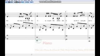 Anh Cứ đi đi  đệm hát giọng Nam Am- Free sheet music