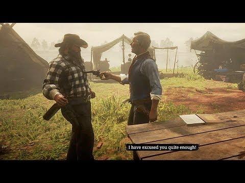 Hosea Almost Kills Bill / Hidden Dialogue / Red Dead Redemption 2 thumbnail