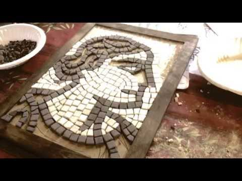 Roman Mosaic Master Class Apr 2015